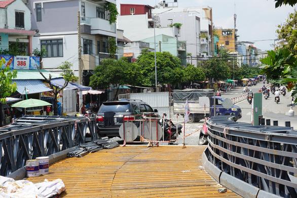 Cầu sắt An Phú Đông không kịp thông xe trong tháng 9-2020 - Ảnh 3.