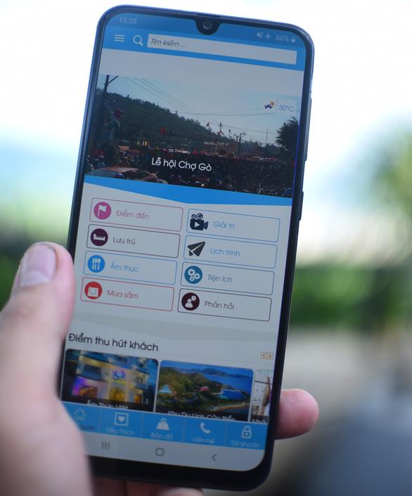 Bình Định ra mắt ứng dụng du lịch thông minh trên điện thoại di động - Ảnh 1.