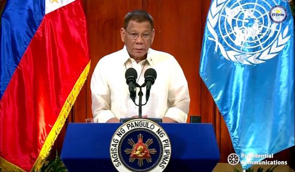 Ông Duterte bỏ bom tại Liên Hiệp Quốc - Ảnh 1.