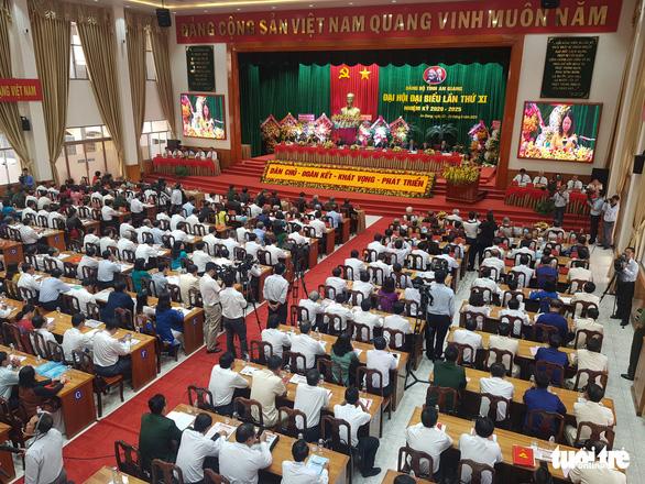 Ông Võ Văn Thưởng dự Đại hội đại biểu Đảng bộ tỉnh An Giang - Ảnh 1.