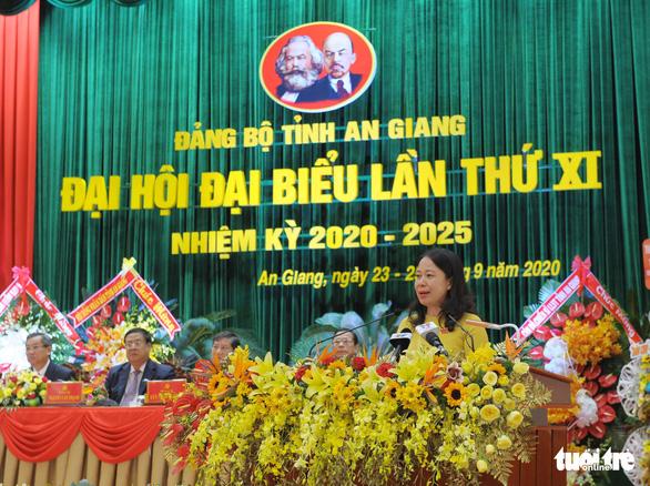 Ông Võ Văn Thưởng dự Đại hội đại biểu Đảng bộ tỉnh An Giang - Ảnh 2.