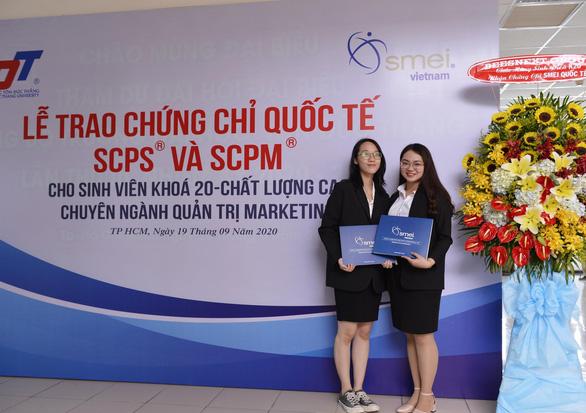 SMEI Việt Nam trao chứng chỉ cho sinh viên Đại học Tôn Đức Thắng - Ảnh 3.