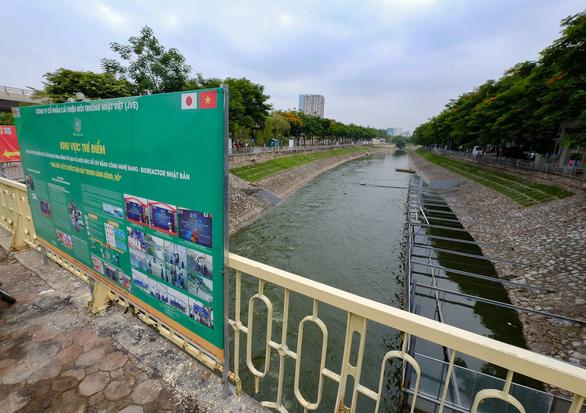Xử lý ô nhiễm sông Tô Lịch: Công nghệ Nano - Bioreactor không phải là một phép màu - Ảnh 1.