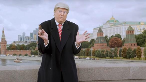 Đài Nga tung video ông Trump làm MC truyền hình sau khi thất cử - Ảnh 2.