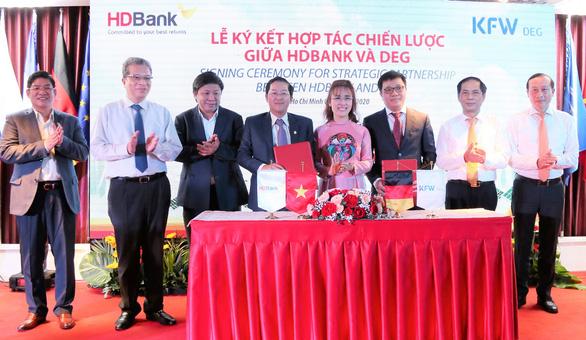 HDBank phát hành trái phiếu chuyển đổi cho đối tác chiến lược DEG của Đức - Ảnh 1.