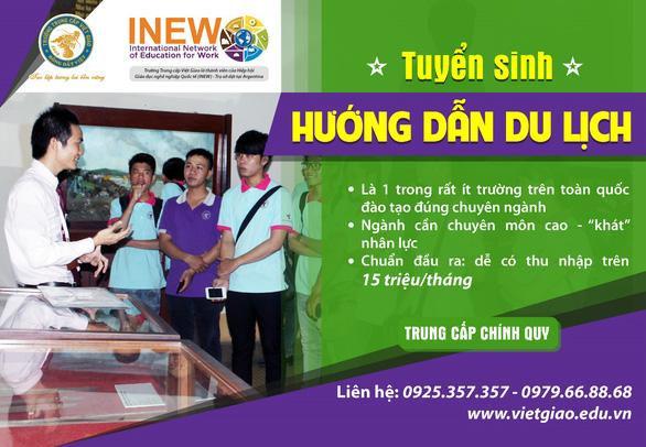 Trung cấp Việt Giao Tuyển sinh Khóa 45 - Ảnh 2.