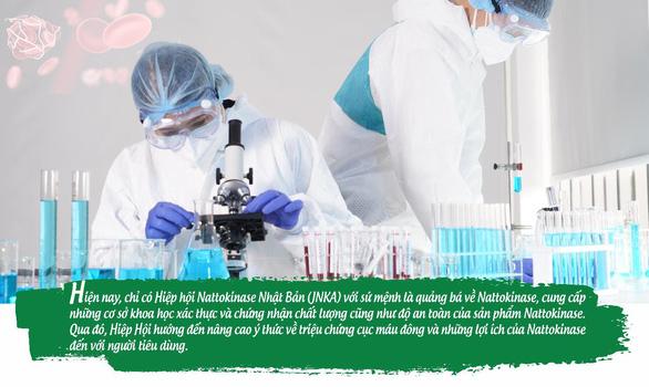 Phân biệt giữa Nattokinase được Hiệp hội JNKA chứng nhận và Nattokinase khác - Ảnh 1.