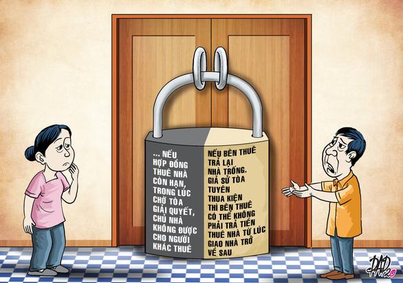 Gặp phiền toái khi cho thuê nhà do hợp đồng cho thuê không chặt chẽ - Ảnh 1.