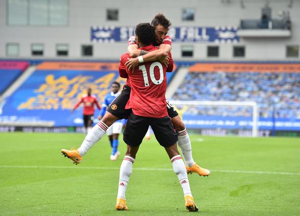 Được khung gỗ cứu thua 5 lần, Man Utd thắng nghẹt thở Brighton - Ảnh 4.