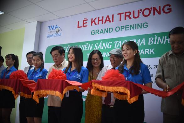 Chính thức đưa Công viên Sáng tạo TMA Bình Định đi vào hoạt động - Ảnh 1.