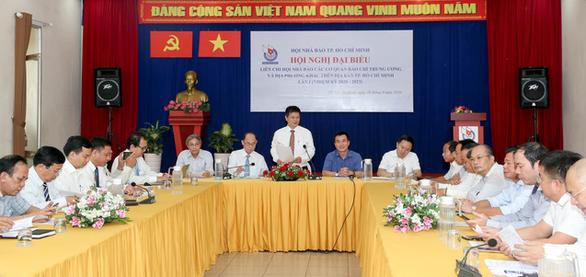 Ra mắt ban thư ký Liên chi hội nhà báo tại TP.HCM - Ảnh 1.