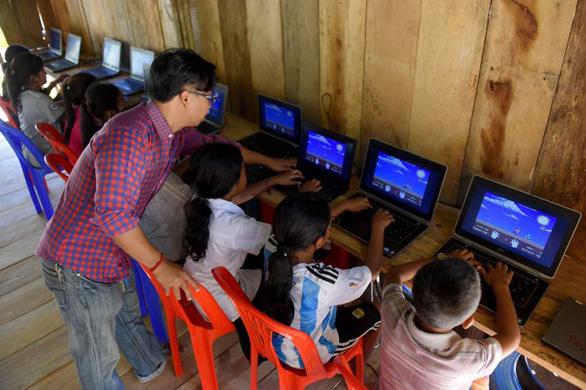 Bộ trưởng thực tâm, giáo dục Campuchia cải cách thực chất được quốc tế công nhận - Ảnh 1.
