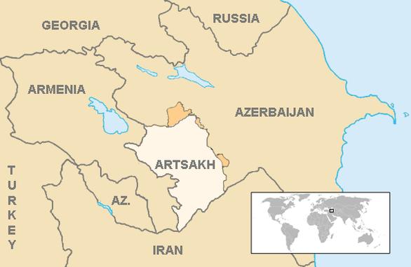 Chiến sự giữa hai nước thuộc Liên Xô cũ, nhiều máy bay và xe tăng bị hạ - Ảnh 3.