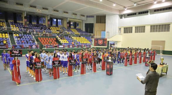 Đại học Văn Lang tổ chức giải thể thao chuyên nghiệp đầu tiên cho học sinh THPT - Ảnh 1.
