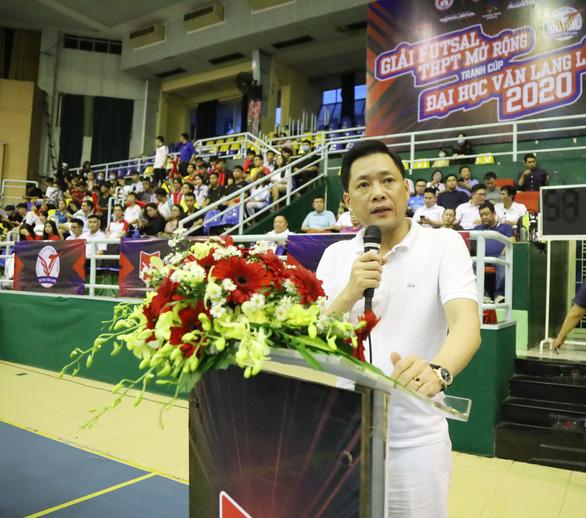 Đại học Văn Lang tổ chức giải thể thao chuyên nghiệp đầu tiên cho học sinh THPT - Ảnh 2.