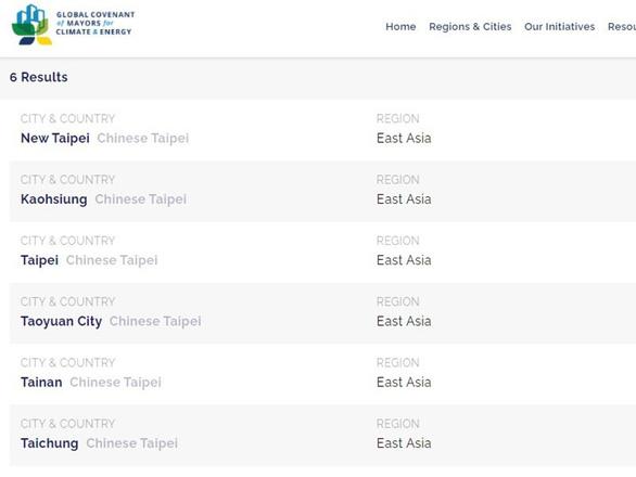 Tổ chức khí hậu quốc tế sửa cách ghi Đài Loan thuộc Trung Quốc - Ảnh 2.
