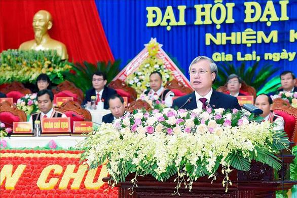 Thường trực Ban Bí thư Trần Quốc Vượng dự đại hội Đảng bộ tỉnh Gia Lai - Ảnh 1.
