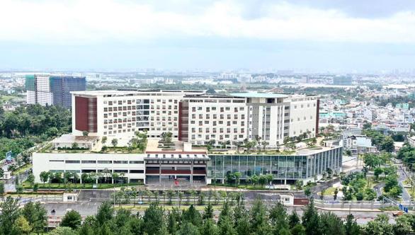 Từ ngày 2-10, cơ sở 2 Bệnh viện Ung bướu TP.HCM sẽ đi vào hoạt động - Ảnh 1.