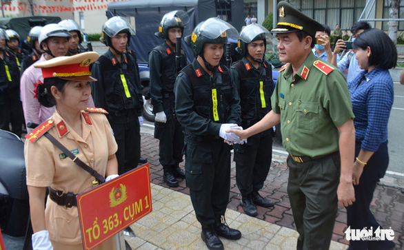 Công an TP.HCM tiếp tục ra quân trấn áp tội phạm - Ảnh 1.