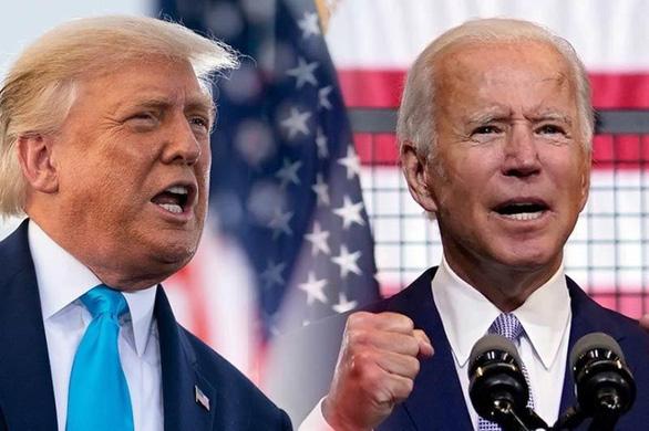 Fox News công bố: Ông Trump thu hẹp khoảng cách dẫn trước của ông Biden - Ảnh 1.