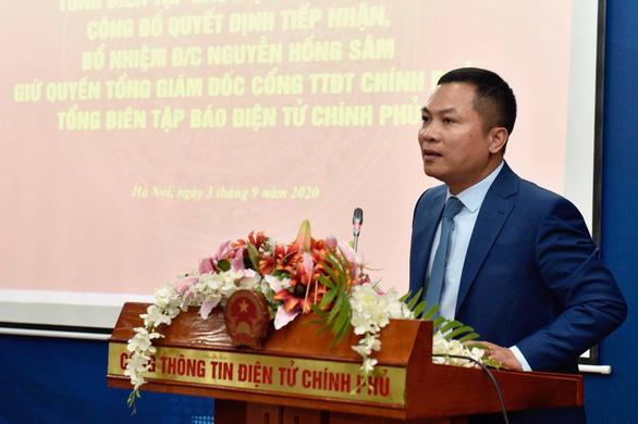 Ông Nguyễn Hồng Sâm làm quyền tổng giám đốc Cổng thông tin điện tử Chính phủ - Ảnh 1.