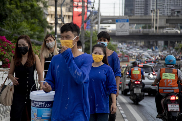 Thái Lan ghi nhận ca lây nhiễm trong cộng đồng sau 100 ngày - Ảnh 1.