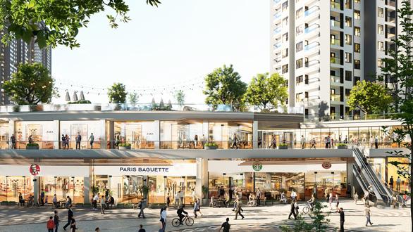 Ecopark triển khai trung tâm thương mại liên hoàn 300m - Ảnh 1.
