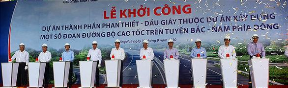 Cao tốc Phan Thiết - Dầu Giây tạo cú hích thu hút đầu tư - Ảnh 1.
