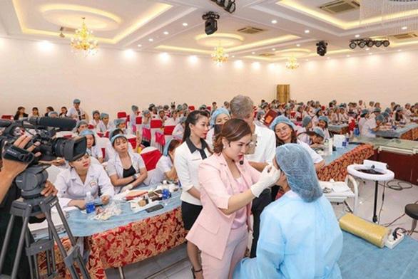 Evaxinh hợp tác Trường CĐ Bách khoa Việt Nam đào tạo nghề làm đẹp - Ảnh 3.