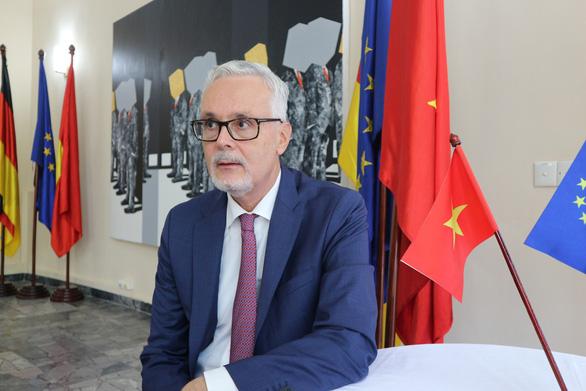 Đức chia sẻ với Việt Nam mối quan tâm giải quyết các tranh chấp trên Biển Đông - Ảnh 1.