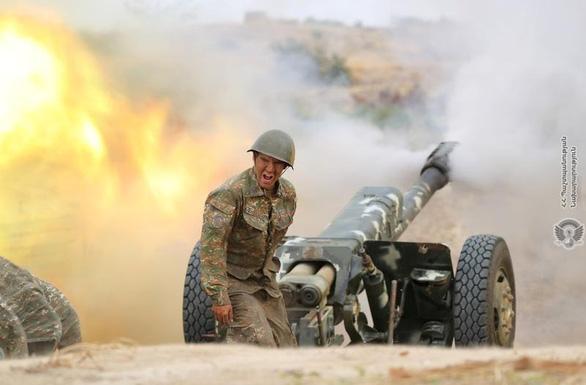 Hội đồng Bảo an LHQ quan ngại cuộc đụng độ tại vùng Nagorno - Karabakh - Ảnh 1.