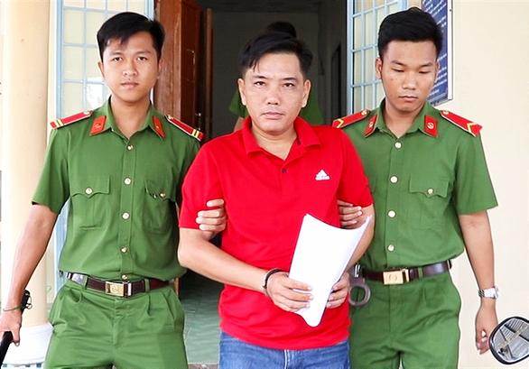 Nguyễn Phước Lộc bị bắt tạm giam - Ảnh: THANH NAM