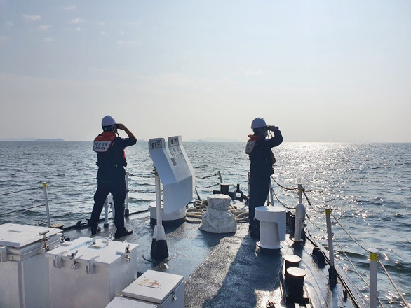 Thuyền viên người Việt rơi xuống biển mất tích ở Hàn Quốc - Ảnh 1.
