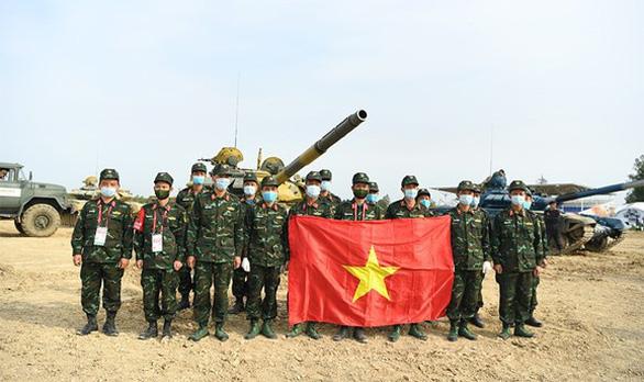 Lần đầu tiên Việt Nam vô địch bảng 2 xe tăng hành tiến của Army Games 2020 - Ảnh 3.
