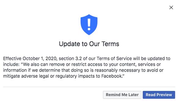 Vì sao Facebook muốn xóa tùy thích dữ liệu người dùng từ ngày 1-10? - Ảnh 2.