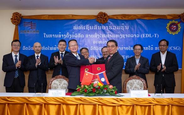 Trung Quốc bỏ tiền tỉ nhảy vào truyền tải điện ở Lào - Ảnh 1.