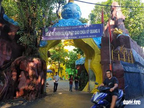 Trụ trì chùa Kỳ Quang 2 nghi ngờ có người quậy phá vụ 'tro cốt không tên' - Ảnh 2.