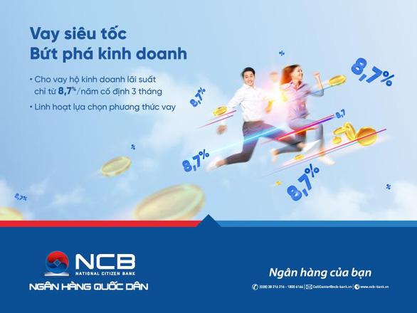 NCB dành thêm 2.000 tỉ đồng cho vay ưu đãi với khách hàng cá nhân - Ảnh 1.