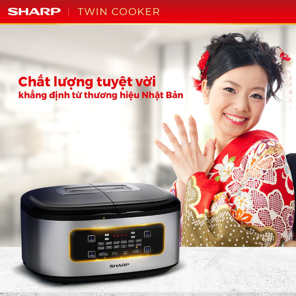 Bí quyết nấu vạn bữa ngon với nồi đôi đa năng Twin Cooker - Ảnh 1.