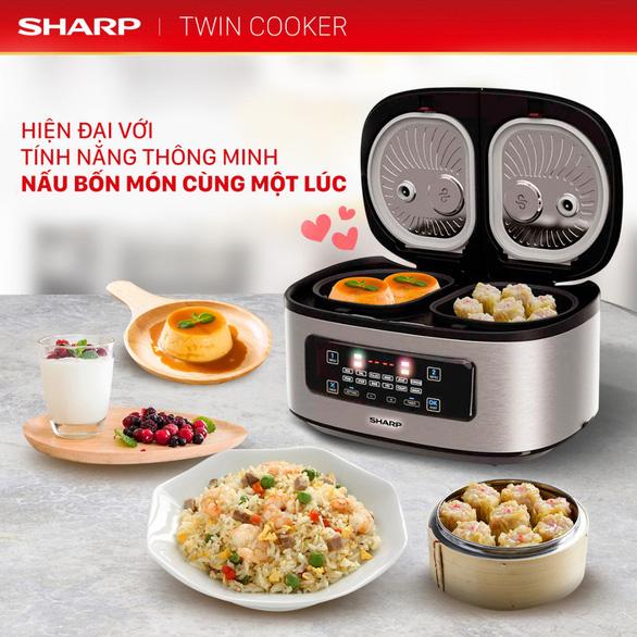Bí quyết nấu vạn bữa ngon với nồi đôi đa năng Twin Cooker - Ảnh 2.