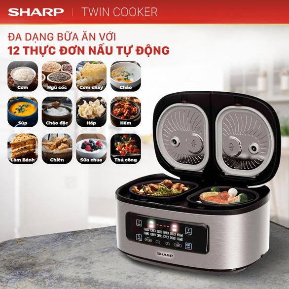 Bí quyết nấu vạn bữa ngon với nồi đôi đa năng Twin Cooker - Ảnh 3.