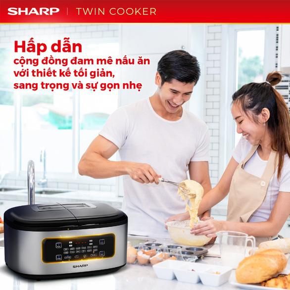 Bí quyết nấu vạn bữa ngon với nồi đôi đa năng Twin Cooker - Ảnh 4.