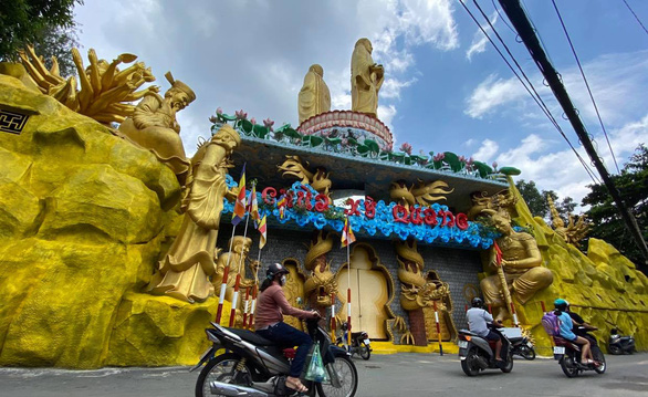 Tạm ngưng chức trụ trì chùa Kỳ Quang 2 với sư Thích Thiện Chiếu - Ảnh 1.