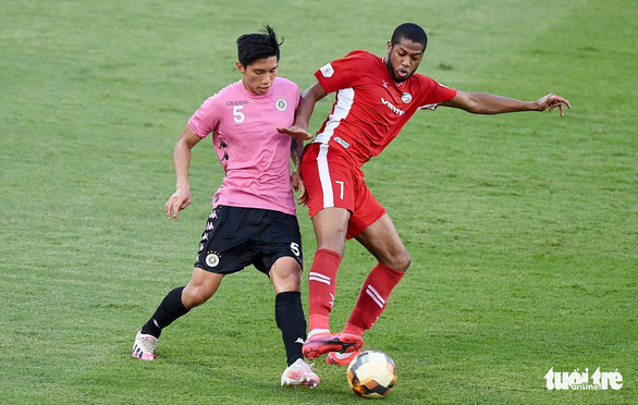 Bùi Tiến Dũng phản lưới nhà, Viettel lại thua đậm Hà Nội FC - Ảnh 1.
