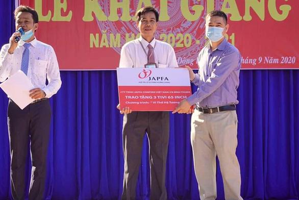 Japfa Comfeed Việt Nam thực hiện chương trình Vì thế hệ tương lai năm 2020 - Ảnh 3.