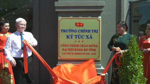Bình Phước đưa vào khai thác ký túc xá Trường Chính trị tỉnh 160 tỉ - Ảnh 1.