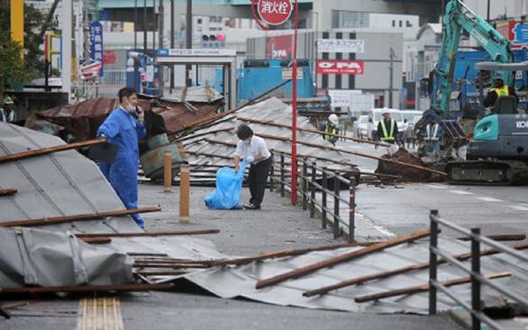 Bão Haishen tàn phá nặng Hàn Quốc, Nhật Bản - Ảnh 2.
