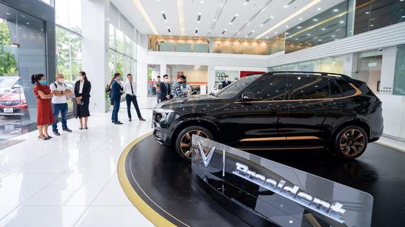 VinFast tung mẫu xe SUV President giá 4,6 tỉ đồng - Ảnh 1.