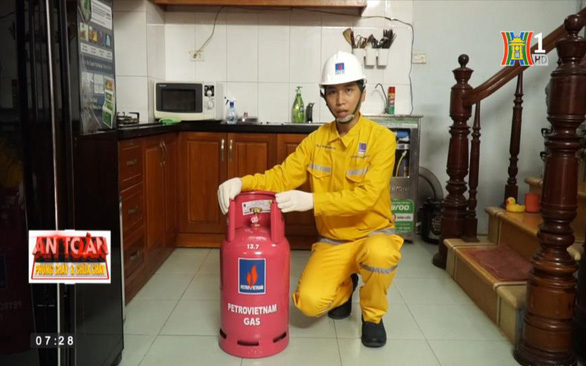 An toàn phòng cháy, chữa cháy hướng dẫn sử dụng Gas an toàn - Ảnh 1.