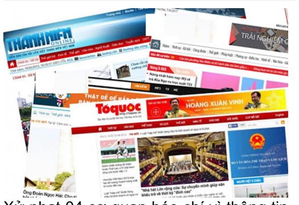 Xử phạt hành chính 5 cơ quan báo chí đưa tin sai, không đúng tôn chỉ - Ảnh 1.